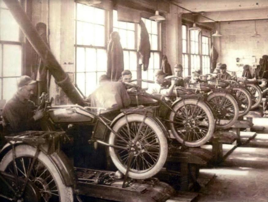 1924 HARLEY FACTORY