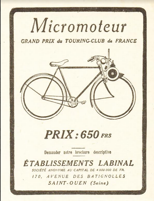 1924 MICROMOTEUR AD