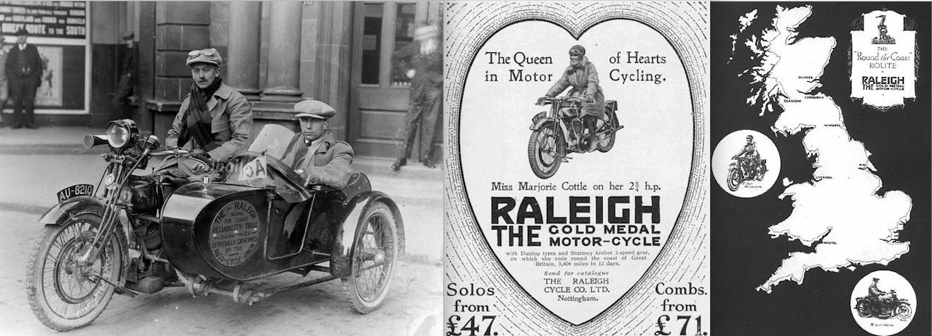 1924 RALEIGH MAUDES