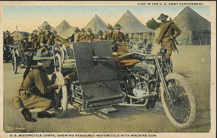 WW1 US AROURED SCAR