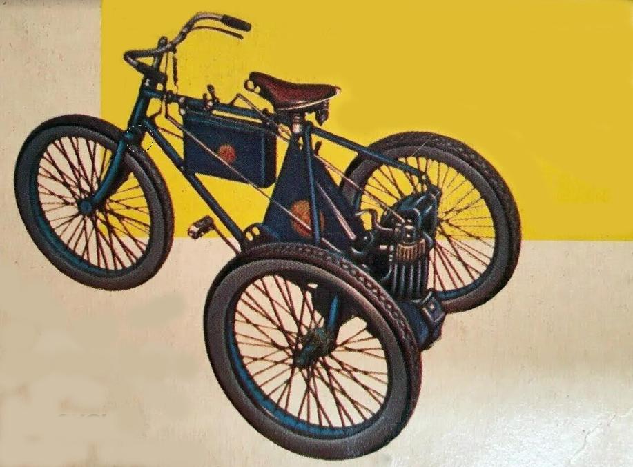 1896 DE DION TRIKE