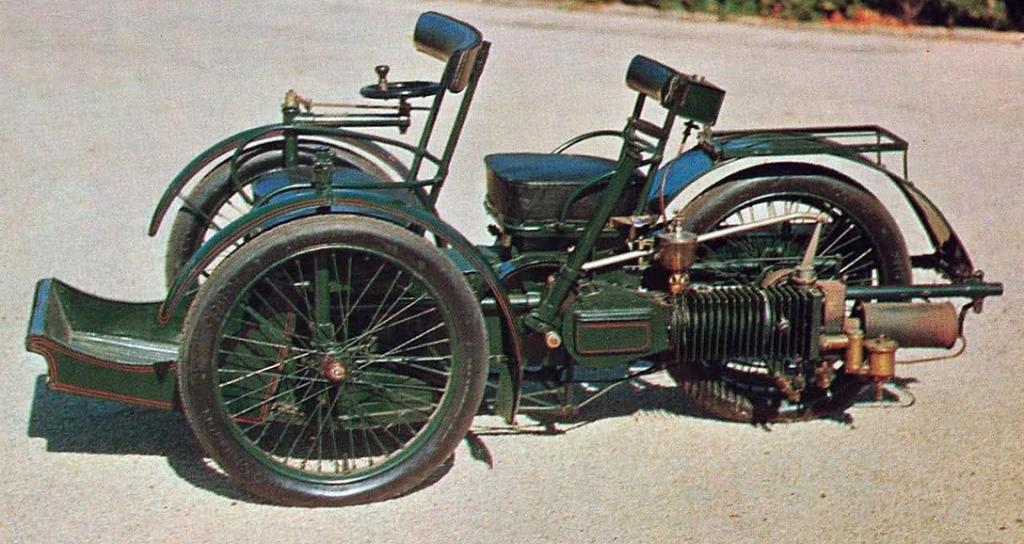1896 LEON BOLLEE TRICAR