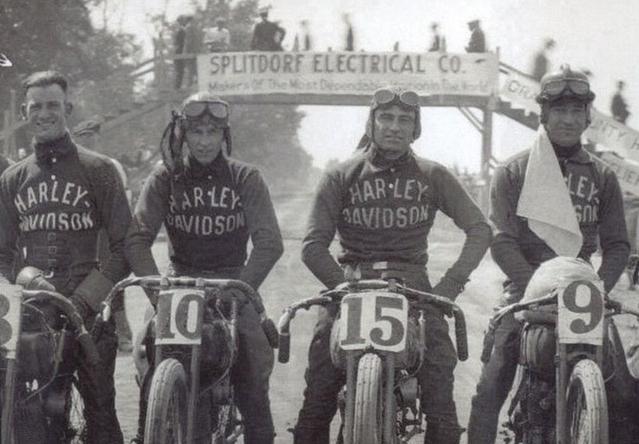 1900s US HARLEY 4 RACERS