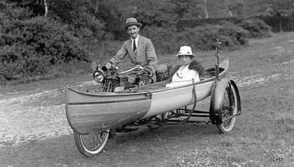 1910s CANOE SCAR