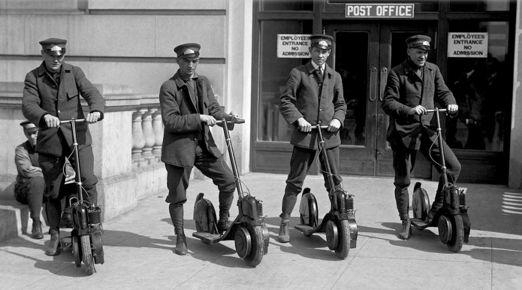 1919 AUTOPED POSTIES