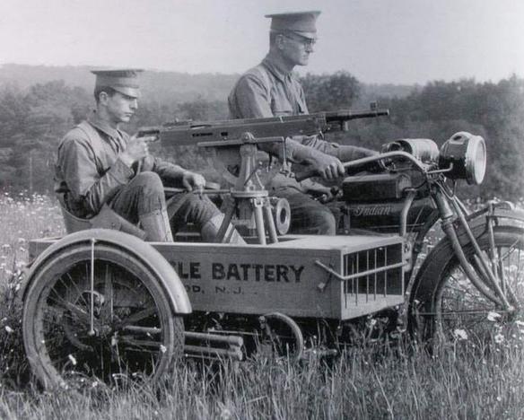 WW1 INDIAN MG SCAR
