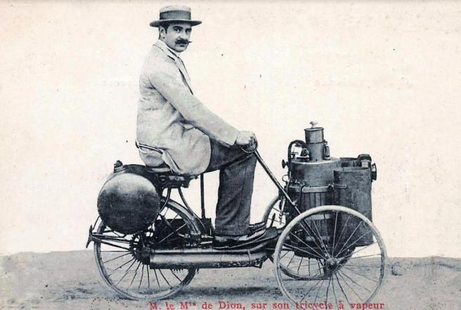 1889 de DION SUR VAPEUR