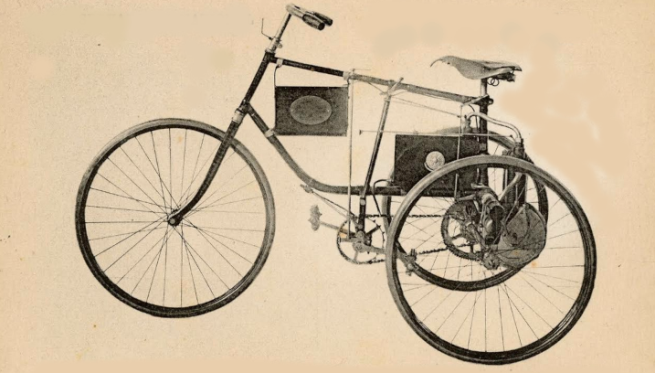 1894 DE DION TRIKE