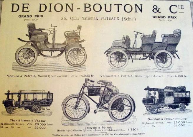 1900 DE DION AD