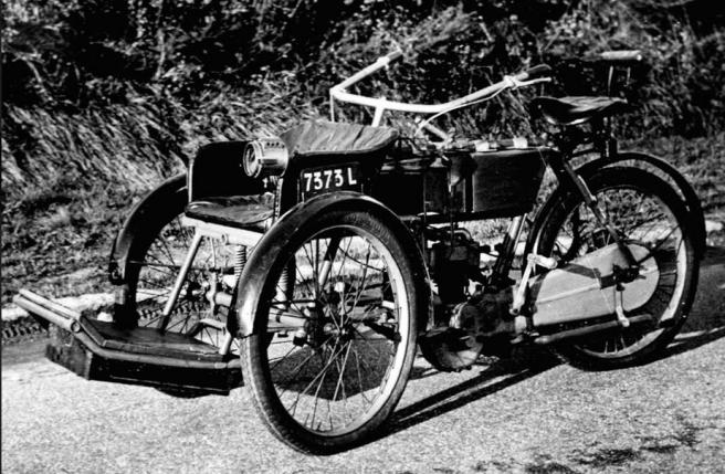 1907 BRUNEAU 326cc TRIKE