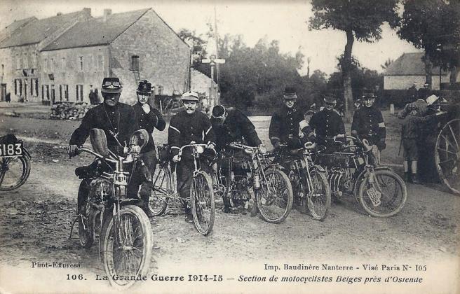 WW1 BELGIAN DRs