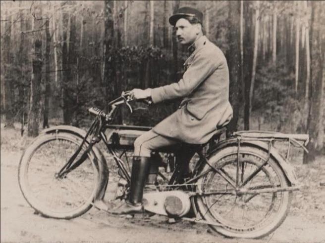 WW1 FRENCH RIDER