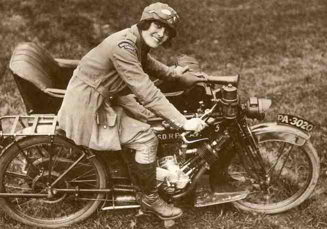 WW1 RFC GIRL