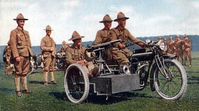 WW1 US MG SCAR