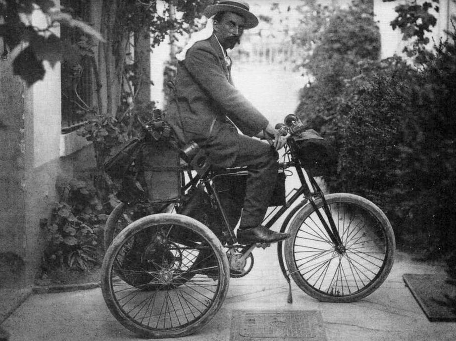 1890ish SMUDGER JEAN GILLETA + DE DION