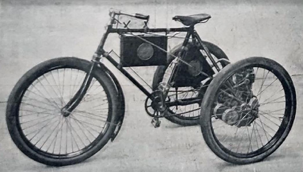 1899 AUTOMOTO TRIKE