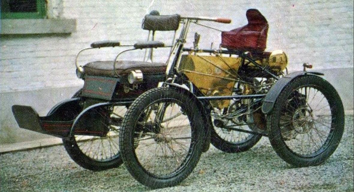 1899 DE DION QUAD 240CC