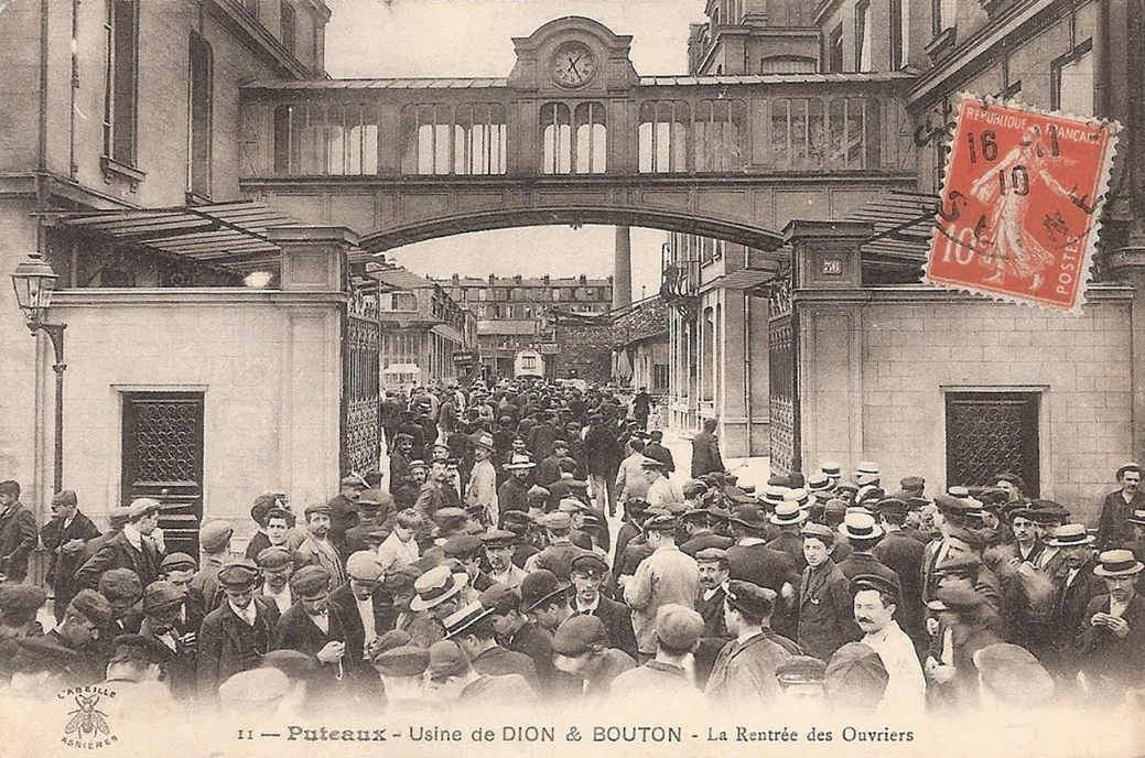 1900s DION BOUTON FACTORY