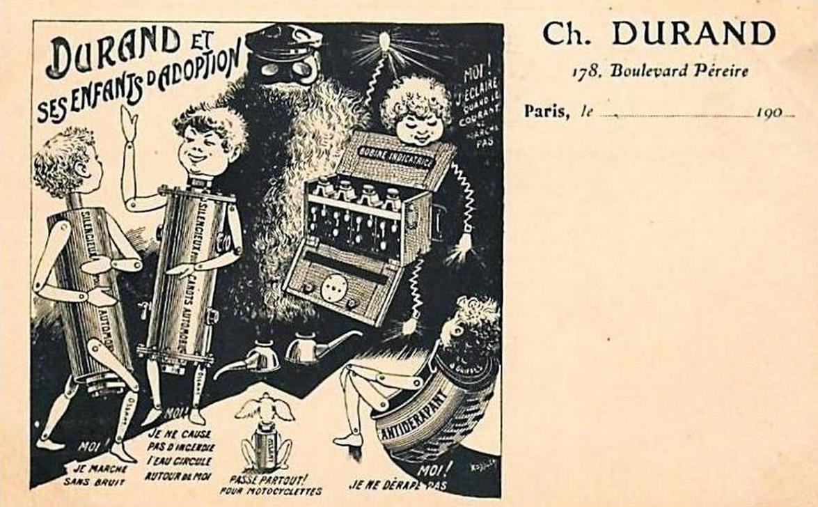 1900s DURAND POSTCARD