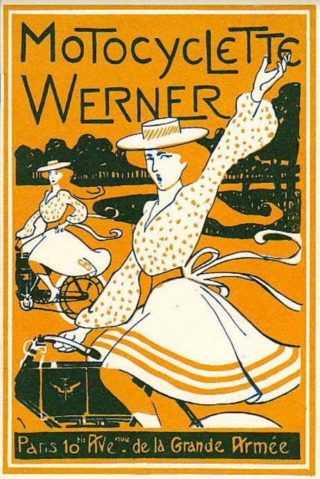 1900s WERNER AD
